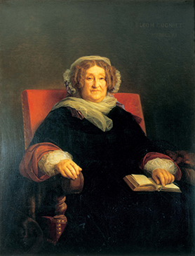 Painting of Madame Clicquot