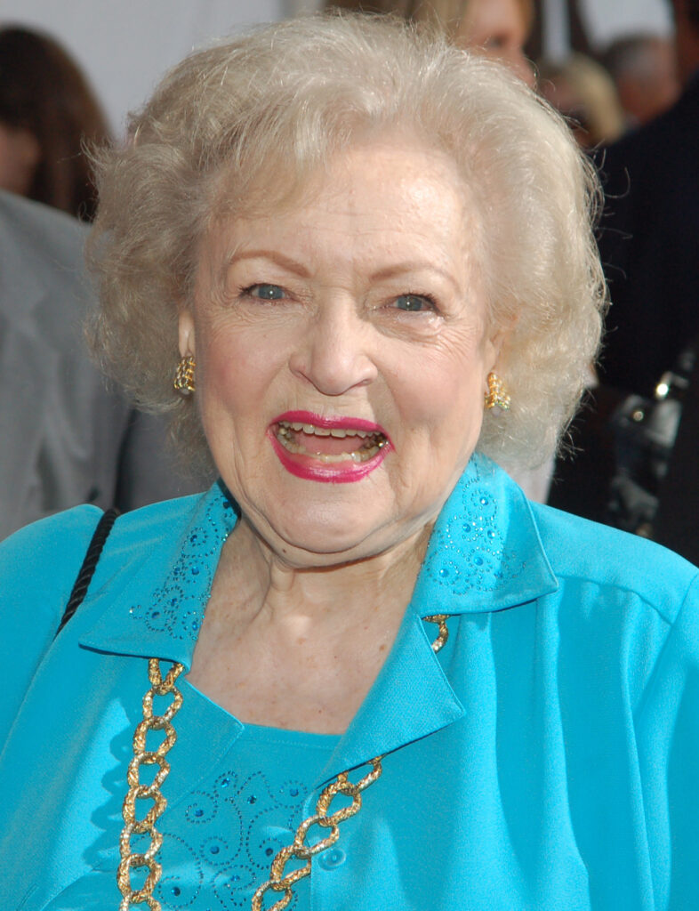 Betty White at the premiere for The Proposal in June 2009